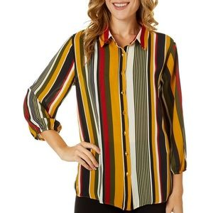 Sami and Jo NWT Striped top SZ S